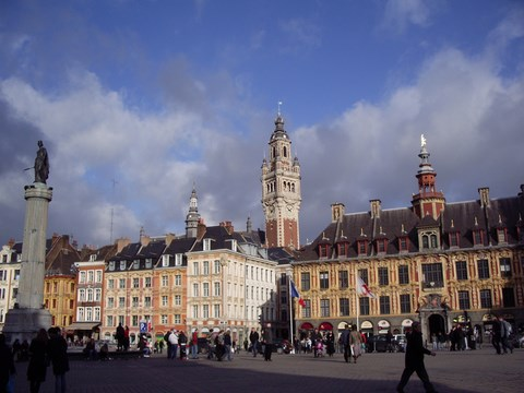 Lille, la Grand Place - Nord