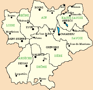 carte de rhone alpes